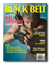 Kali For The Cage – Black Belt Magazine Cover Story