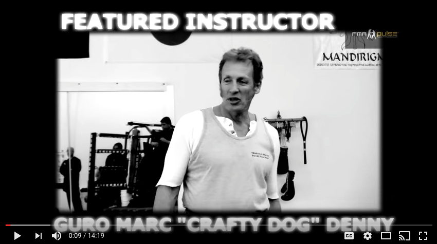 "Punong Guro Marc ""Crafty Dog"" Denny Interview – FMA Pulse"
