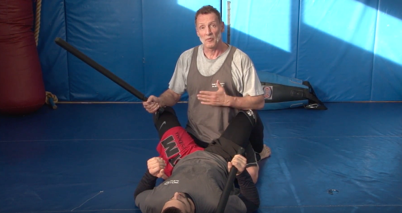 DBMA Stick Grappling: Guard – Anti-Guard Sample – Attack The Back Control