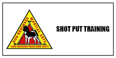 Shot Put Training